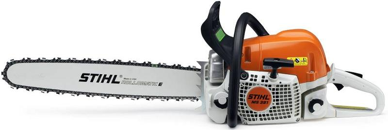 Picture of recalled chainsaw