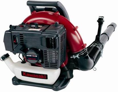 Picture of recalled backpack blower