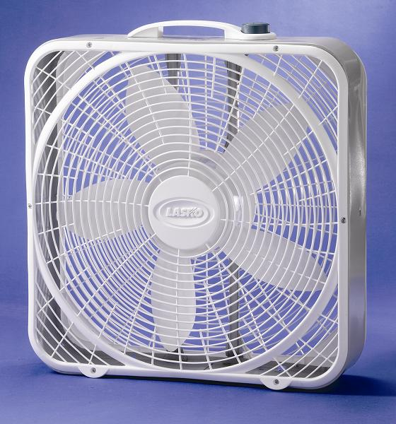 Picture of recalled model 3723 Lasko box fan