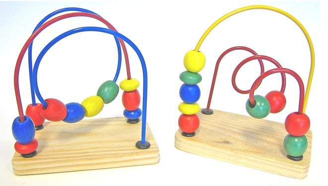 Picture of Recalled Baby Bead & Wire Toy