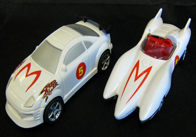 Picture of Recalled Speed Racer Pull Back & Go! Action Cars