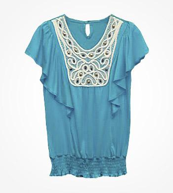 Picture of recalled girl's tops