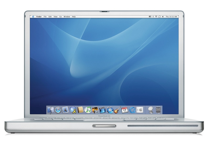 Picture of PowerBook G4 Computer