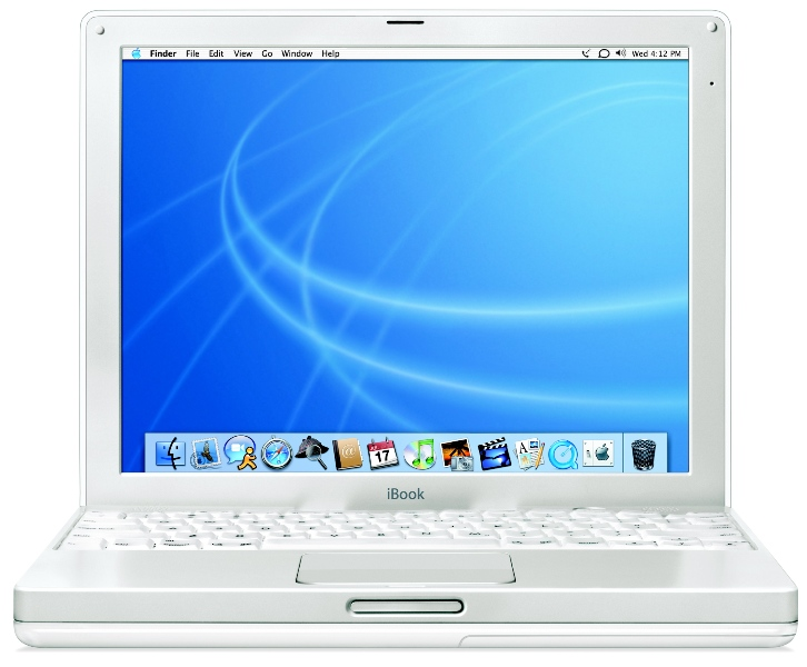 Picture of iBook Computer