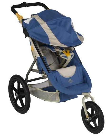 Picture of recalled Kelty Swivel Deluxe stroller