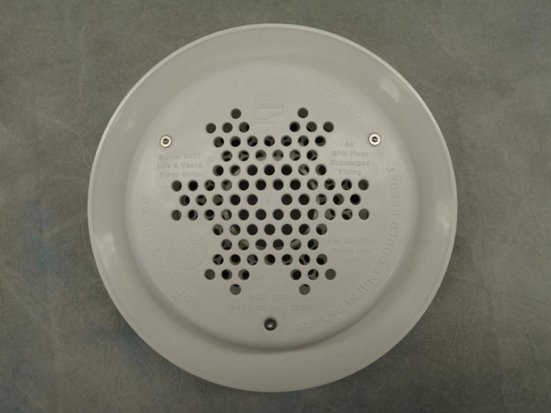 Picture of recalled A&A drain cover