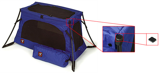 Picture of Recalled Travel Cots