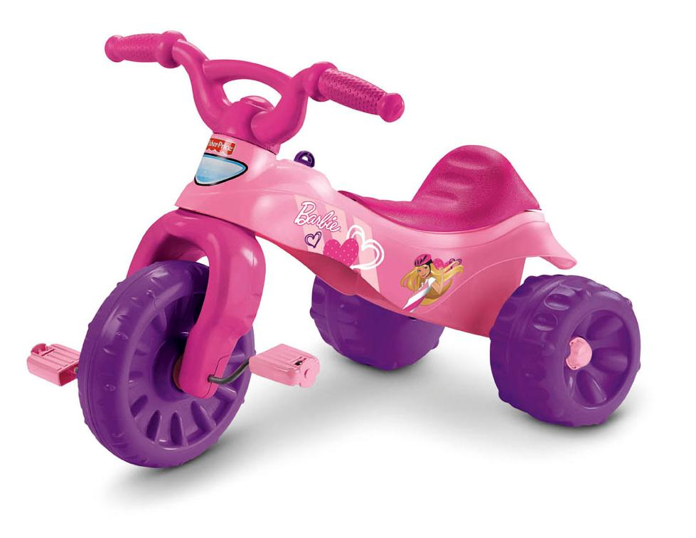 Picture of recalled Fisher-Price Barbie Tough Trike Princess Ride-On