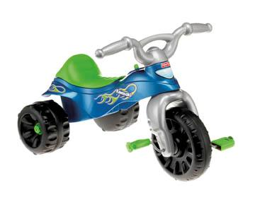 Picture of recalled Fisher-Price Kawasaki Tough Trike