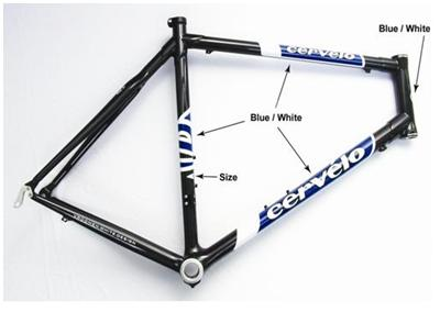Picture of Recalled Carbon Fiber Bicycles and Bicycle Frames