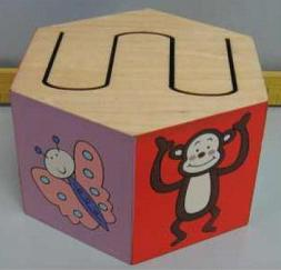 Picture of recalled Wooden Animal Drum