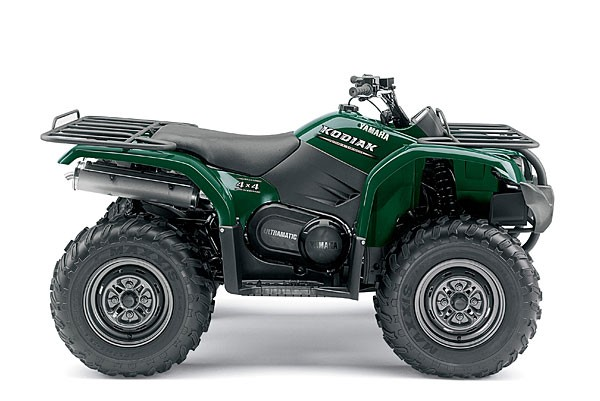 Picture of Recalled Kodiak 450 All-Terrain Vehicle