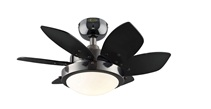Picture of recalled ceiling fan item number 72243; Click For Larger Image