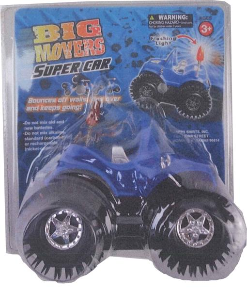 Picture of recalled toy truck in package
