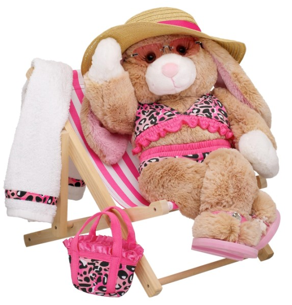 Picture of Recalled Toy Beach Chair with stuffed toy