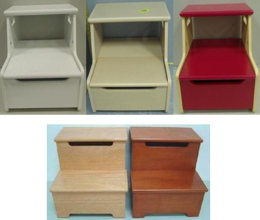Picture of recalled wooden step stools