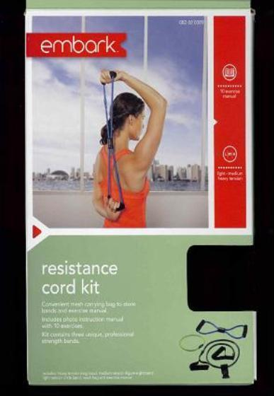 Picture of recalled Resistance Cord Kit in package