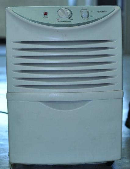 Recalled Goldstar dehumidifier