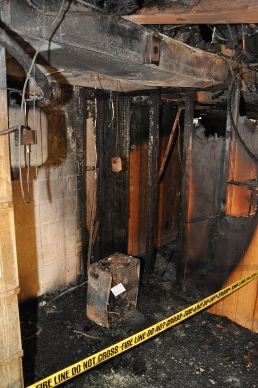 This fire at a home in Valparaiso, Ind. involved a recalled Goldstar dehumidifier and resulted in $192,000 in damage