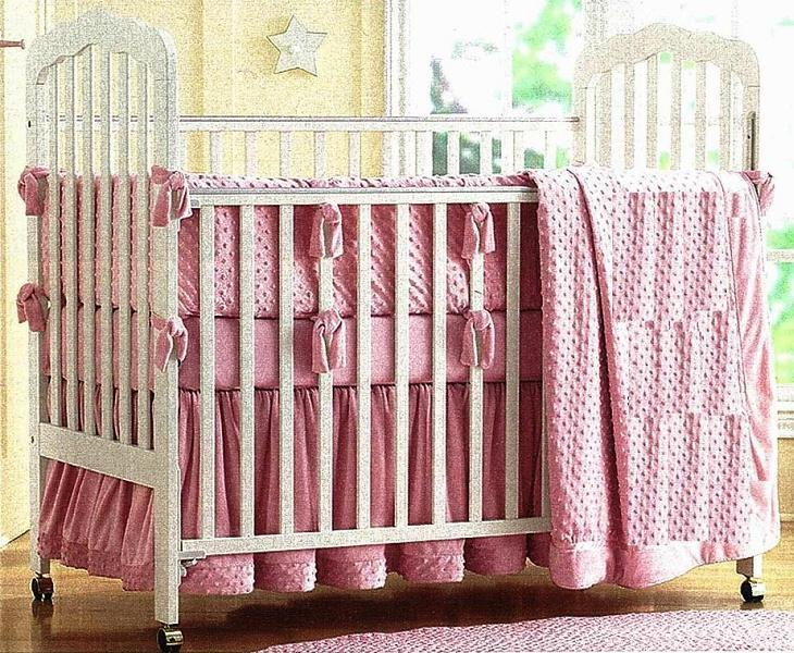 Picture of recalled 343-8271 Cottage Standard drop-side crib version 2