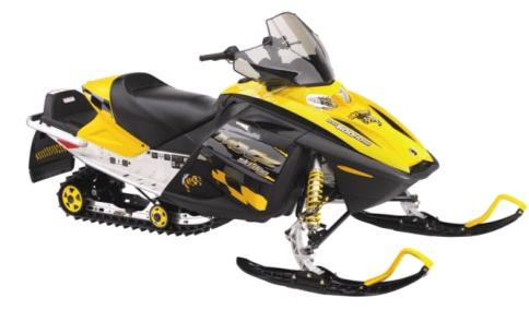 Picture of Recalled Snowmobile