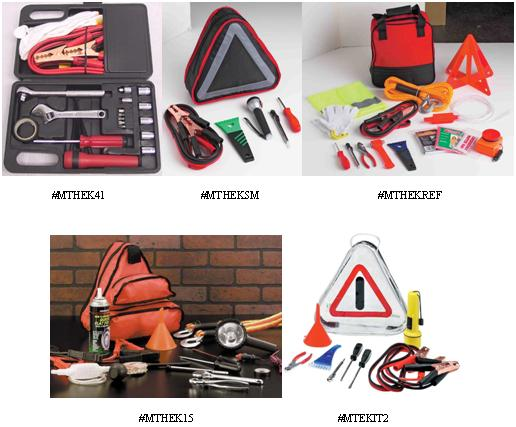 Picture of Recalled Emergency Tool Kits