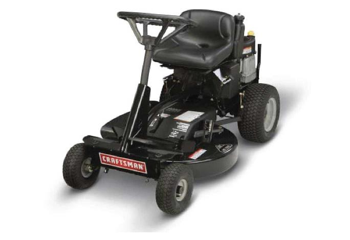 Picture of Recalled Riding Mower