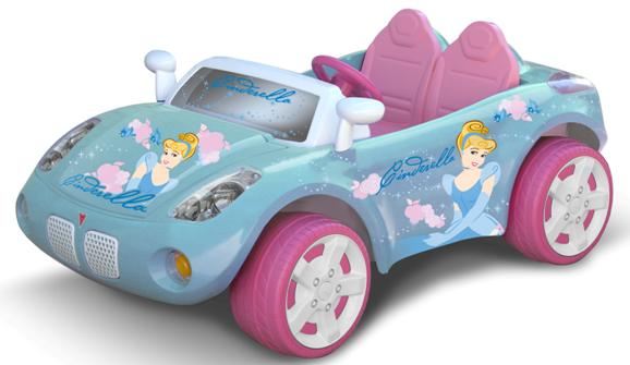 Picture of Recalled Cinderella Battery-Powered Toy Car