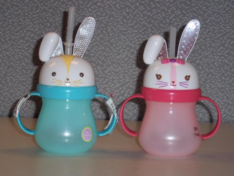 Picture of recalled Home Bunny sippy cups