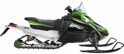 Picture of recalled F8 snowmobile