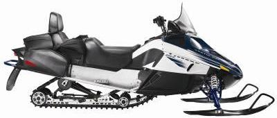 Picture of recalled TZ1 LXRI snowmobile