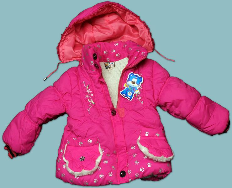 Picture of recalled girls' hooded winter jacket
