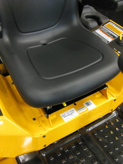 Picture of Fuel Tank on Recalled Riding Lawn Mower