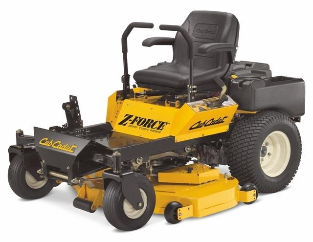 Picture of Cub Cadet Z-Force Recalled Riding Lawn Mower