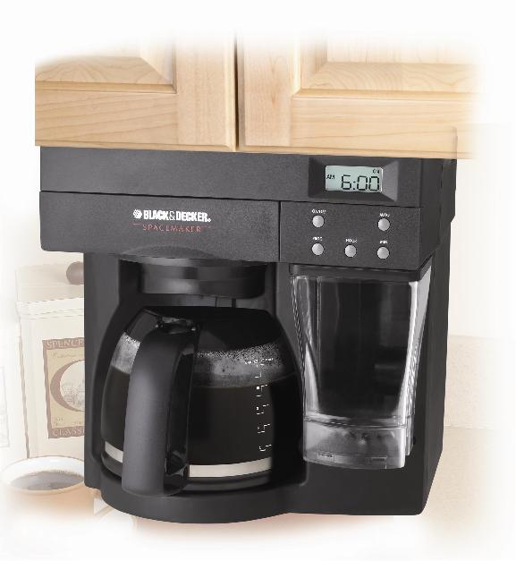 Black And Decker Spacemaker Coffee Maker Installation Instructions : Applica Consumer Products Inc. Recalls Black & Decker Spacemaker Coffeemakers Due to Burn ...