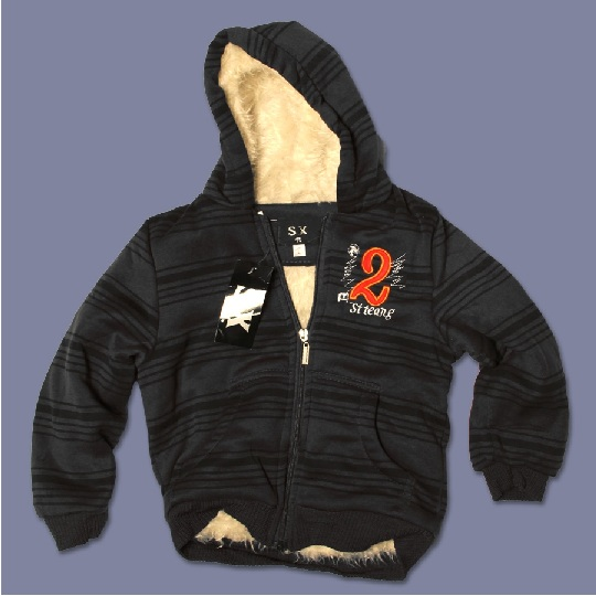 Picture of recalled boys' '2' Hooded Jacket