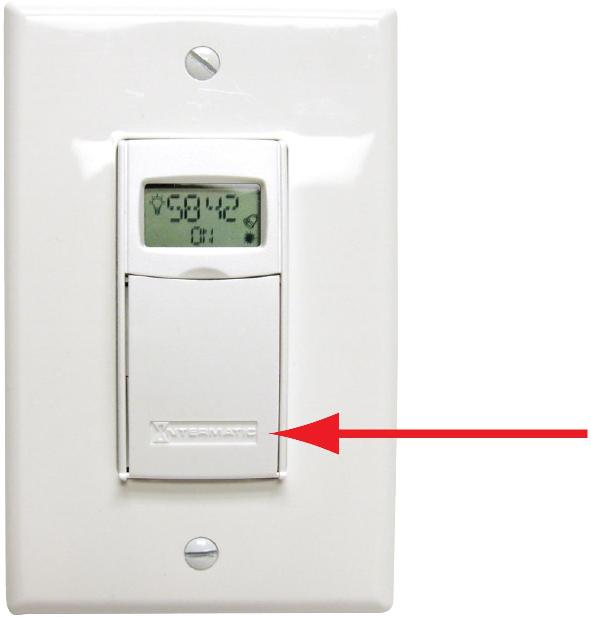 Picture of Recalled In-wall Electronic Timer