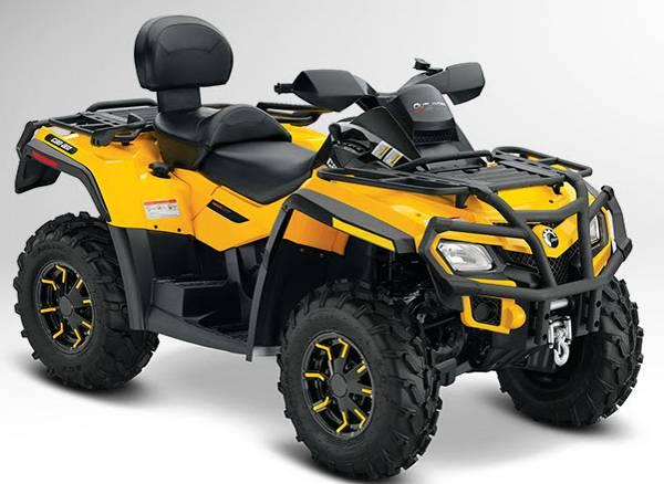 Picture of recalled Can-Am Outlander Max ATV