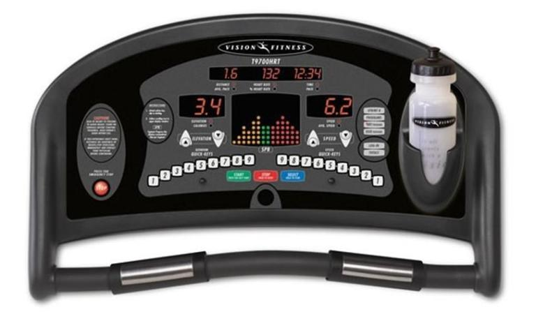 Picture of Recalled Treadmill Console