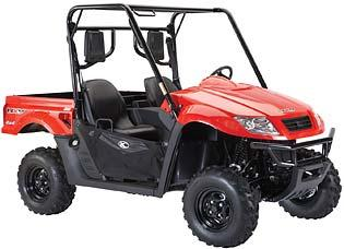 Picture of recalled Model UXV 500 Utility Vehicle