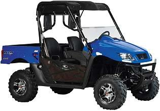 Picture of recalled Model UXV 500 SE Utility Vehicle