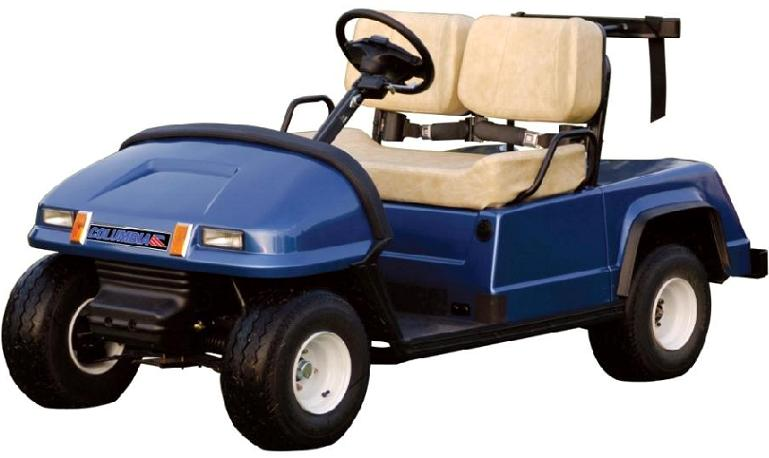 Picture of recalled Eagle Golf Vehicle