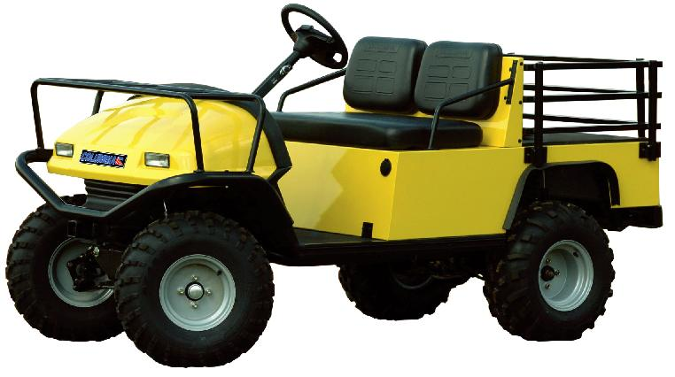 Picture of recalled Scout Utility Vehicle
