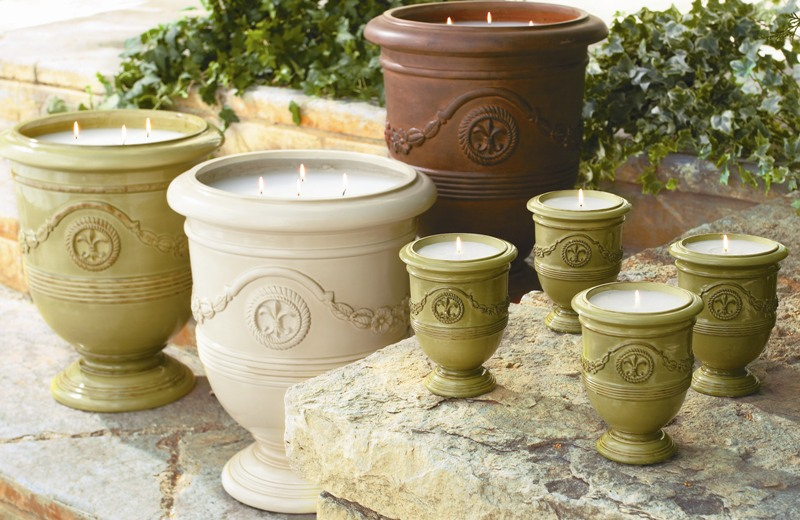ballard designs inc recalls potted candles for fire custom fabrics