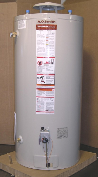 Picture of Recalled Natural and Propane Gas Water Heaters