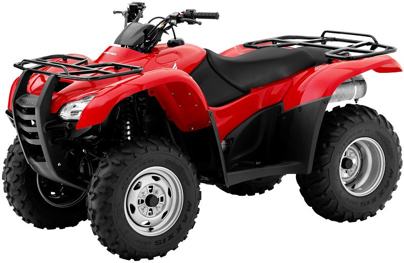 Picture of recalled Honda FourTrax Rancher TRX420TE ATV