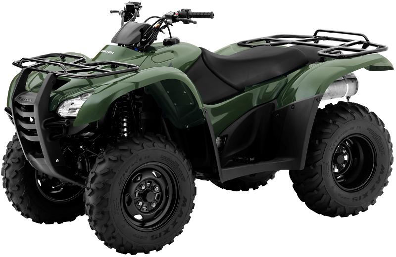 Picture of recalled Honda FourTrax Rancher TRX420TM ATV