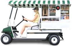 Picture of recalled Café Express utility vehicle