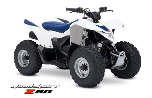 Picture of Recalled Suzuki 2007 Model Year QuadSport Z90 ATV