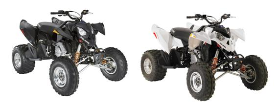 Picture of Recalled Polaris Outlaw 525 ATVs